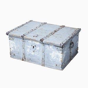 Schwedische Box aus Pinienholz, 19. Jh.