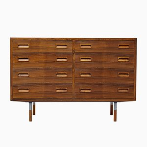 Danish Rosewood Double Chest of Drawers, 1960s