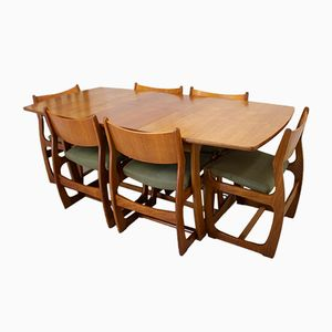 Mid-Century Teak Dining Set from Portwood