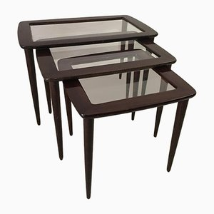 Italian Nesting Tables by Cesare Lacca, 1950s