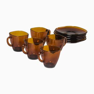French Coffee Service from Vereco, 1960s, Set of 5