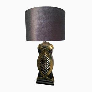 Lámpara de mesa belga vintage