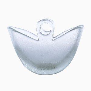 Mid-Century Murano Glass Vase by Flavio Poli for Seguso, 1940s
