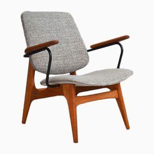 Vintage Armchair by Luis van Teeffelen for WéBé