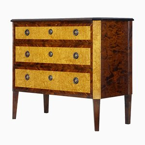 Birch Kingwood Chest of Drawers, 1920s