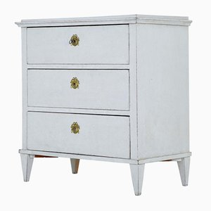 Small 19th Century Swedish Painted Commode
