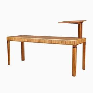 Art Deco Oak Lecturer's Desk Table