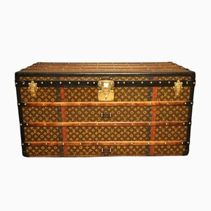 Vintage Monogram Canvas Trunk from Louis Vuitton