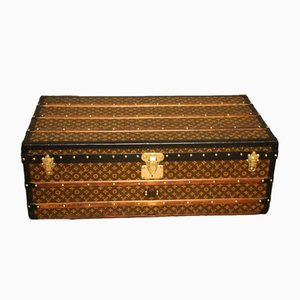 Tall Vintage Cabin Trunk from Louis Vuitton