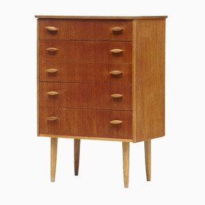 Small Danish Teak Chest of Drawers, 1960s