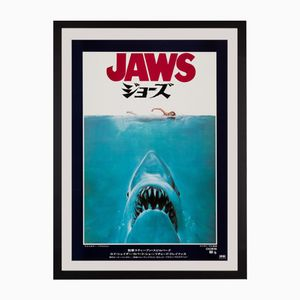 Japanisches Jaws Filmposter von Roger Kastel, 1975