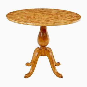 Art Deco Swedish Birch Occasional Table
