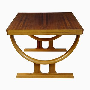 Scandinavian Teak & Walnut Coffee Table, 1970s