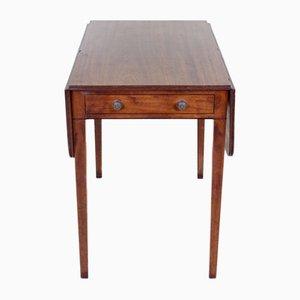 Antiker George III Pembroke-Tisch aus Mahagoni