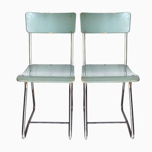 Chairs by Paul Schuitema for D3 Rotterdam, 1930s, Set of 2