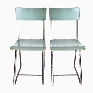 Stühle von Paul Schuitema für D3 Rotterdam, 1930er, 2er Set