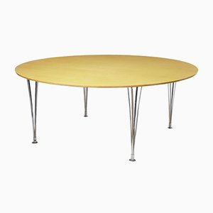 Birch Dining Table by Bruno Mathsson, 1980s