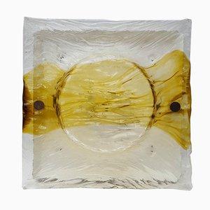Quilt Wandlampe von Toni Zuccheri für Venini, 1970er