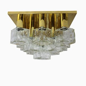 Ice Cube Wall or Ceiling Lamp from Kalmar, 1960s