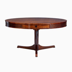 Rosewood Drum Table by Robert Heritage for Archie Shine, 1960s