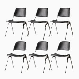 Model 1601 Chairs by Don Albinson for Knoll, 1960s, Set of 6