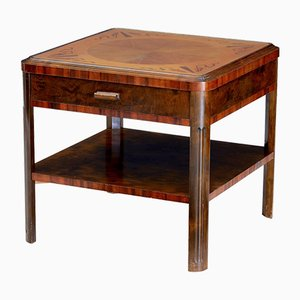 Art Deco Birch Inlaid Coffee Table