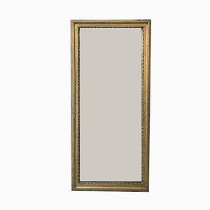 Antiker Spiegel mit Vergoldung & Gips