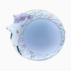 Espejo Calla con mosaico de Luisa Degli Specchi