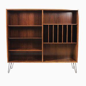 Danish Palisander Bookcase by Poul Hundevad, 1960s