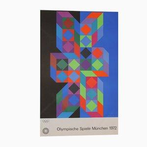 Munich Olympics Poster, 1972