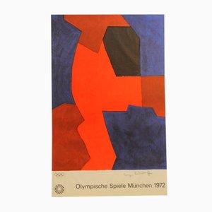 Olympische Spiele München Poster von Serge Poliakoff, 1972