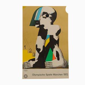 Olympische Spiele München Poster von Horst Antes, 1972