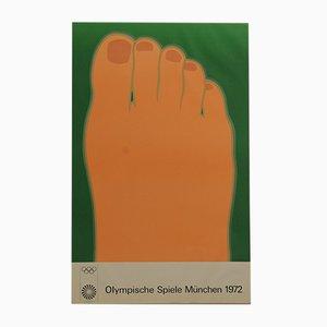 Olympische Spiele München Poster von Tom Wesselmann, 1972