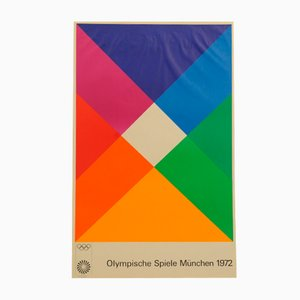 Munich Olympics Poster by Max Bill, 1972