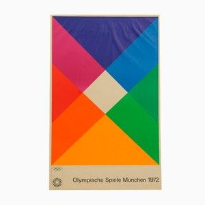 Olympische Spiele München Poster von Max Bill, 1972