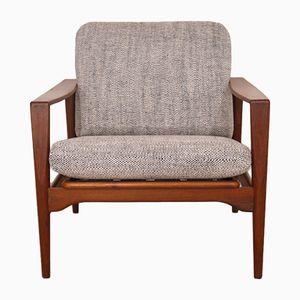 Dänischer Vintage Sessel von Illum Wikkelso
