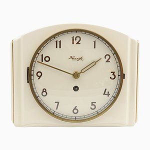 Ceramic Wall Clock from Kienzle International, 1950s