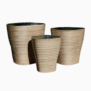 Tables Gigognes Sculpturales ou Tabourets par Julien Lagueste, Set de 3