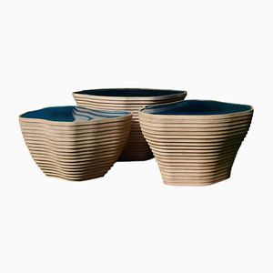 Sculptural Coffee Tables by Julien Lagueste, Set of 3