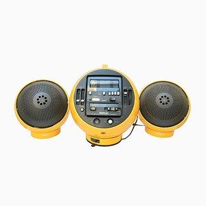 Modell 2004 Radio und Kassette von Weltron, 1970er