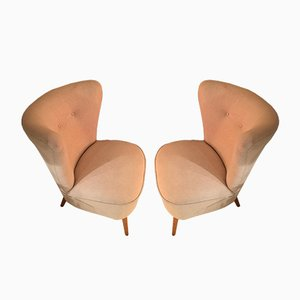 French Cocktail Chairs, 1960s, Set of 2