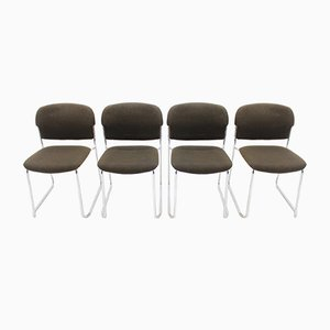 Stackable Chairs by Gerd Lange for Drabert, 1980s, Set of 4