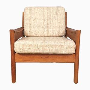 Dänischer Sessel aus Teak und Wolle von Dyrlund, 1960er