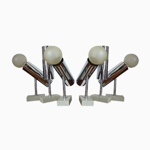 Mid-Century Wall Sconces by Motoko Ishii for Staff, 1978, Set of 6