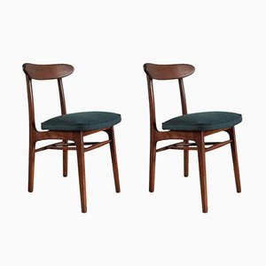 Vintage Dining Chairs by Romuald Hałas, 1960s, Set of 2