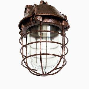 Lámpara enjaulada industrial de ZAOS, 1973