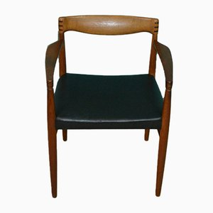 Chaise avec Accoudoirs par H.W. Klein pour Bramin, Danemark, 1960s