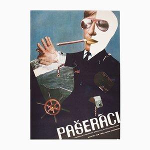 Contraband Movie Poster by Petr Vápeník, 1976