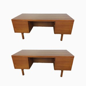 Mid-Century Desks by Alfred Cox, Set of 2