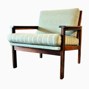 Vintage Danish Lounge Chair by Illum Wikkelso for Niels Eilersen